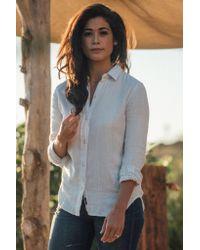 Faherty Brand - White Featherweight Newport Shirt - Lyst