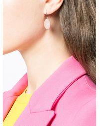 Aurelie Bidermann - Pink Bead Drop Earrings - Lyst