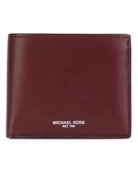 Michael Kors - Red Classic Wallet for Men - Lyst
