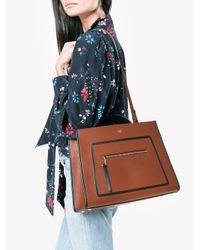 Fendi - Brown Large Runaway Box Bag - Lyst