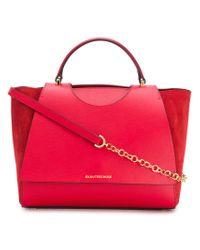 L'Autre Chose - Red Logo Chain Strap Bag - Lyst