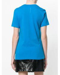DIESEL - Blue T-shirt - Lyst