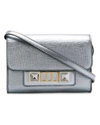 Proenza Schouler - Metallic Ps11 Wallet With Strap - Lyst