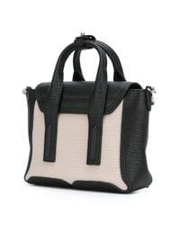 3.1 Phillip Lim - Black Mini Pashli Leather Satchel - Lyst