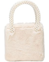 Shrimps - Multicolor All Over Beaded Bag - Lyst