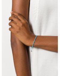 Astley Clarke - Blue Skinny Bracelet - Lyst