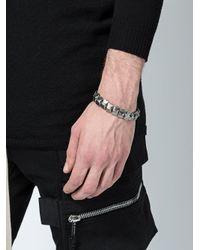 Tobias Wistisen - Metallic Spine Bead Bracelet for Men - Lyst