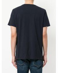 Edwin - Blue Chest Print T-shirt for Men - Lyst
