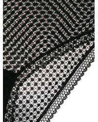 Else - Black Lace Briefs - Lyst