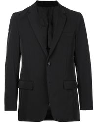En Route - Black Classic Fitted Blazer for Men - Lyst