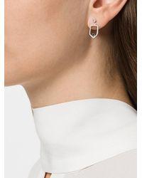 Maya Magal - Metallic Ear Jacket Earrings - Lyst