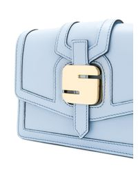 Serapian Blue 1972 Mini Crossbody Bag