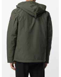 Napapijri - Green Patched Hoodie for Men - Lyst