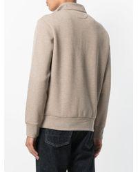 Polo Ralph Lauren - Natural Zipped Neck Sweatshirt for Men - Lyst