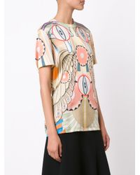 Givenchy - Multicolor 'crazy Cleopatra' T-shirt - Lyst