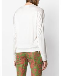 DSquared² - White Classic Fitted Sweater - Lyst