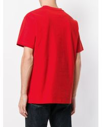 CALVIN KLEIN 205W39NYC Embroidered Logo T-shirt for men
