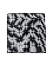 Tom Ford - Black Striped Scarf for Men - Lyst