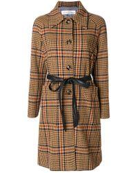 Golden Goose Deluxe Brand | Brown Single Breasted Coat | Lyst
