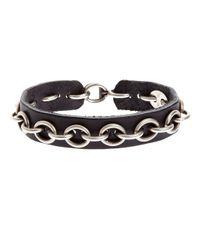 Werkstatt:münchen | Black Werkstatt:münchen Chain Bracelet for Men | Lyst