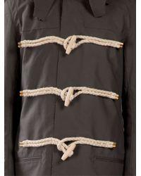 Kolor | Gray - Classic Duffle Coat - Men - Cork/acetate - 3 for Men | Lyst