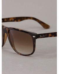 Ray-Ban - Brown Marbled Sunglasses - Lyst