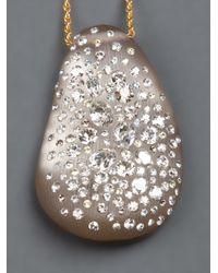 Alexis Bittar - Multicolor Crystal Studded Pendant - Lyst