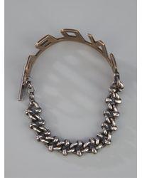 Laura B - Metallic 'andar' Bracelet - Lyst