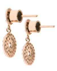 Ileana Makri - Metallic Double 'solitaire' Diamond Earrings - Lyst