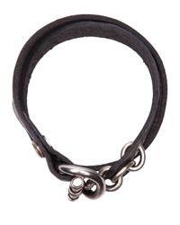 Werkstatt:münchen | Black Werkstatt:münchen Toggle Bracelet | Lyst