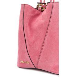 Miu Miu - Pink Small Bucket Bag - Lyst
