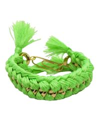 Aurelie Bidermann | Green 'do Brasil' Bracelet | Lyst