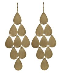 Irene Neuwirth | Metallic 18kt Yellow Gold Chandelier Earrings | Lyst