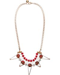 Scho | Metallic 'star' Necklace | Lyst