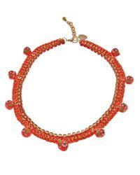 Venessa Arizaga | Orange '1979' Necklace | Lyst