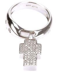 Gavello | Metallic Cross Ring | Lyst