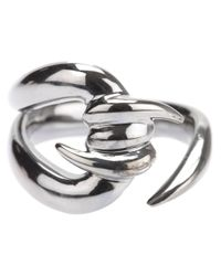 Stephen Webster - Metallic 'forget Me Knot' Barb Ring - Lyst