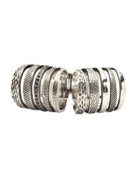 Pamela Love - Metallic Double Cage Ring - Lyst
