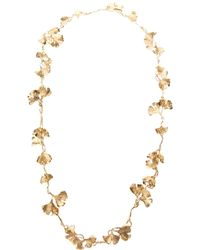 Aurelie Bidermann - Metallic 'tangerine' Necklace - Lyst