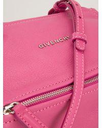 Givenchy | Pink Small 'pandora' Shoulder Bag | Lyst