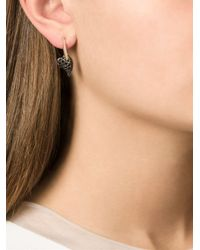 Shaun Leane - Metallic 'hook My Heart' Earrings - Lyst