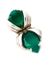 Shaun Leane - 'bound' Green Onyx Earrings - Lyst
