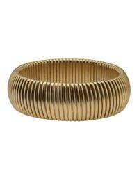 Janis Savitt | Metallic Wide 'cobra' Bracelet | Lyst