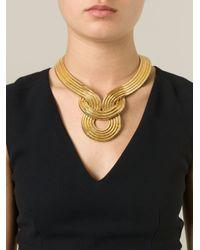 Lara Bohinc - Metallic 'lunar Eclipse' Necklace - Lyst