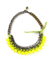 Lanvin | Yellow Necklace | Lyst