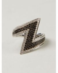 AS29 - Black Diamond Phalanx Ring - Lyst