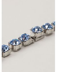 Tom Binns - Blue Long 3 Strand Crystal Necklace - Lyst