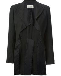 Comme des Garçons | Black Comme Des Garçons Vintage Structured Blazer | Lyst