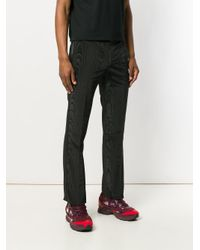 Givenchy - Black Moiré Effect Evening Trousers for Men - Lyst