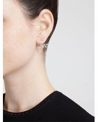 Yvonne Léon - Metallic Yvonne Léon Diamond Leaf Stud Earring - Lyst